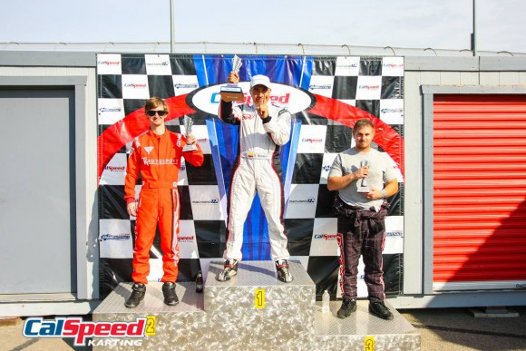 IM 16-1 podium