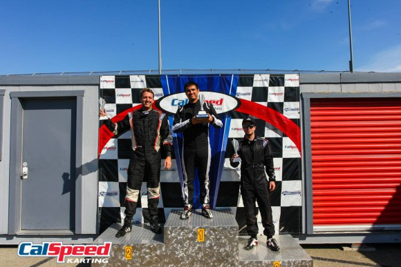 Sprint 2016 Round 2 podium