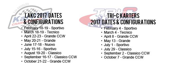 lakc tric 2017 dates