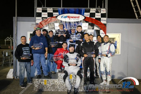 Sport Class Podium: (1) T4 Autosport Powered by TEG, (2) All In Racing, (3) Red Mist Activated